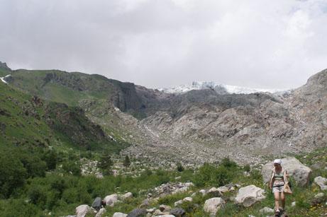 Август 2008 года Приэльбрусье