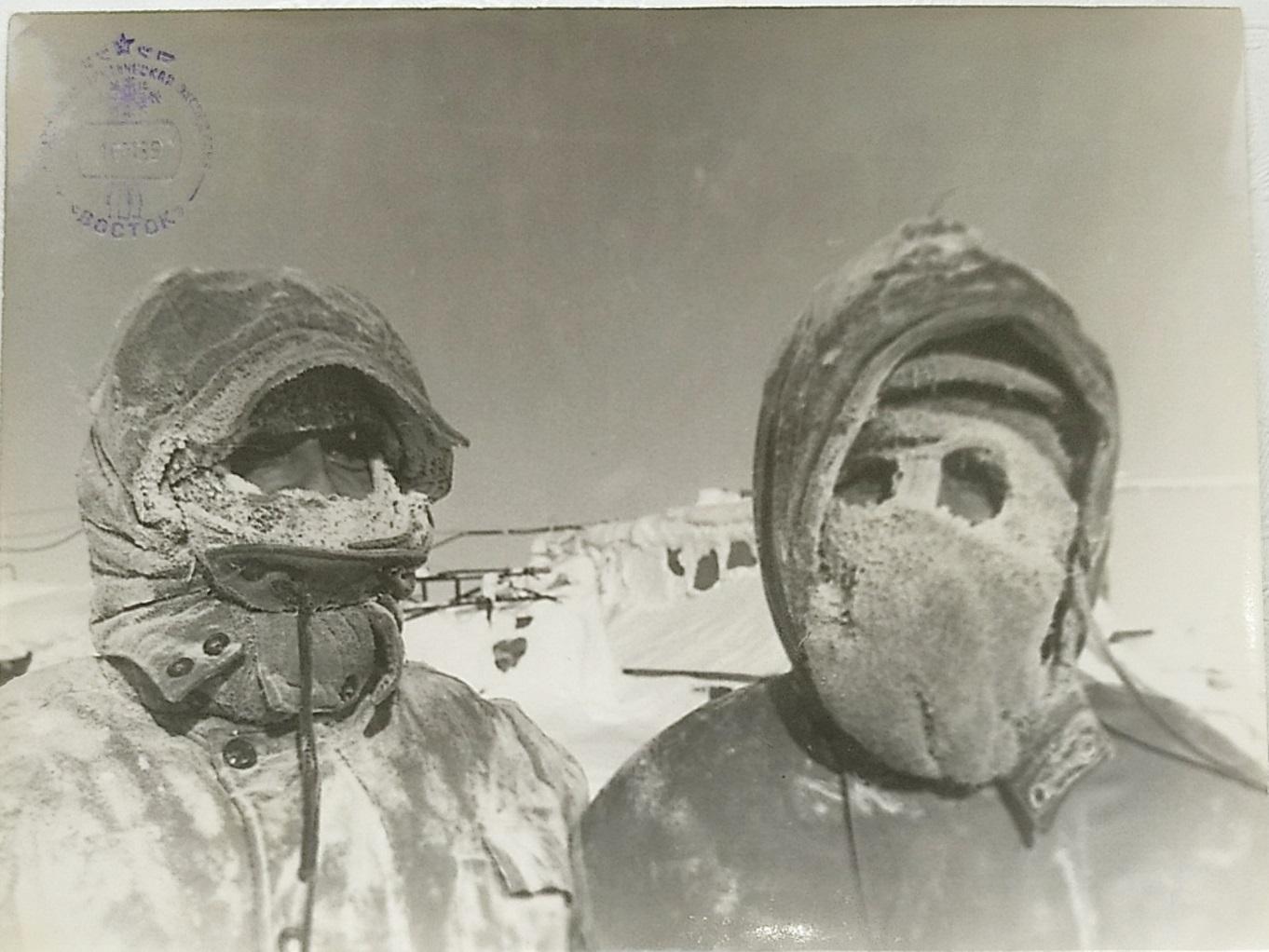 Небратенко Игорь в Антарктиде